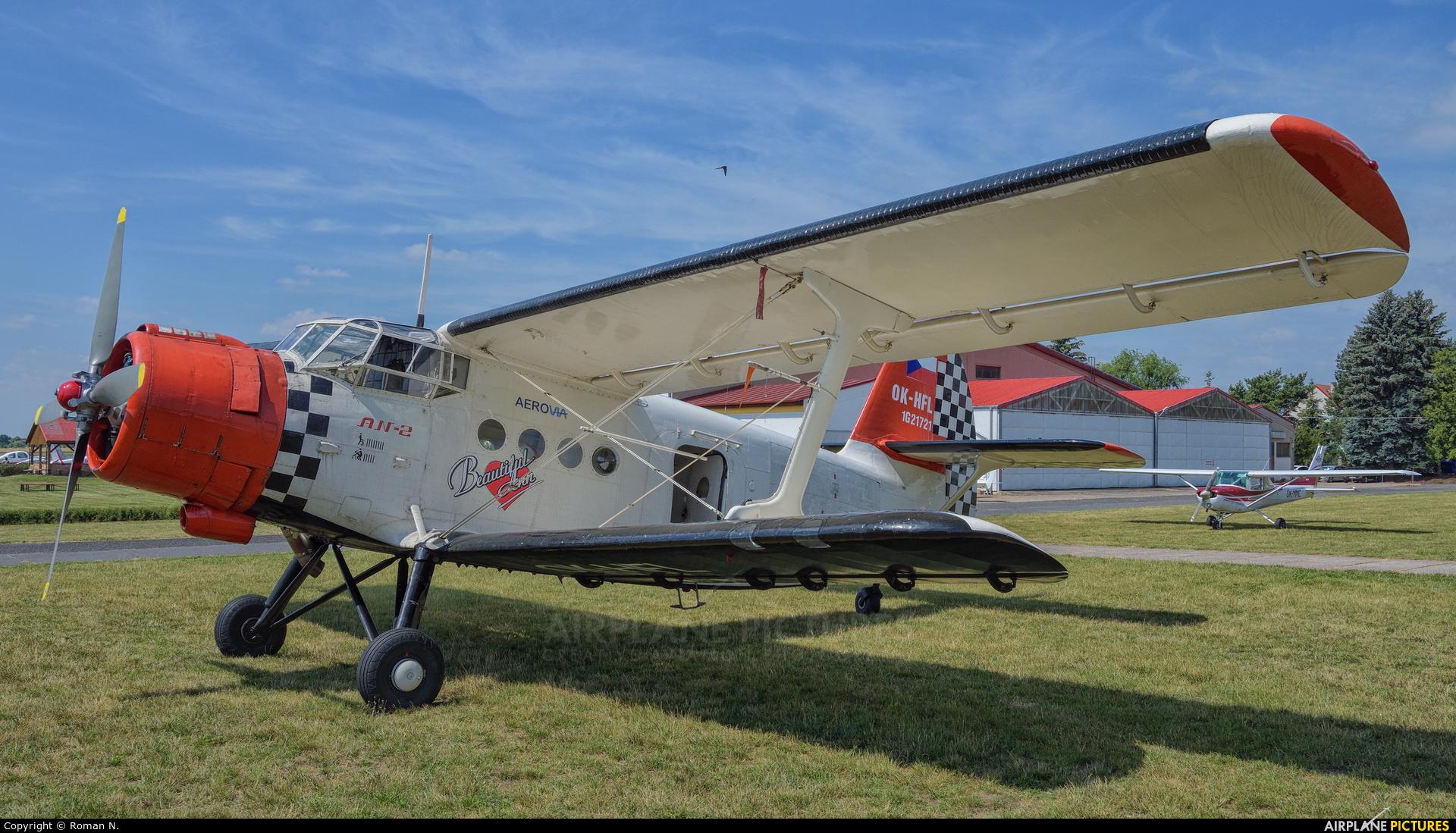 Heritage of Flying Legends OK-HFL aircraft at Mladá Boleslav