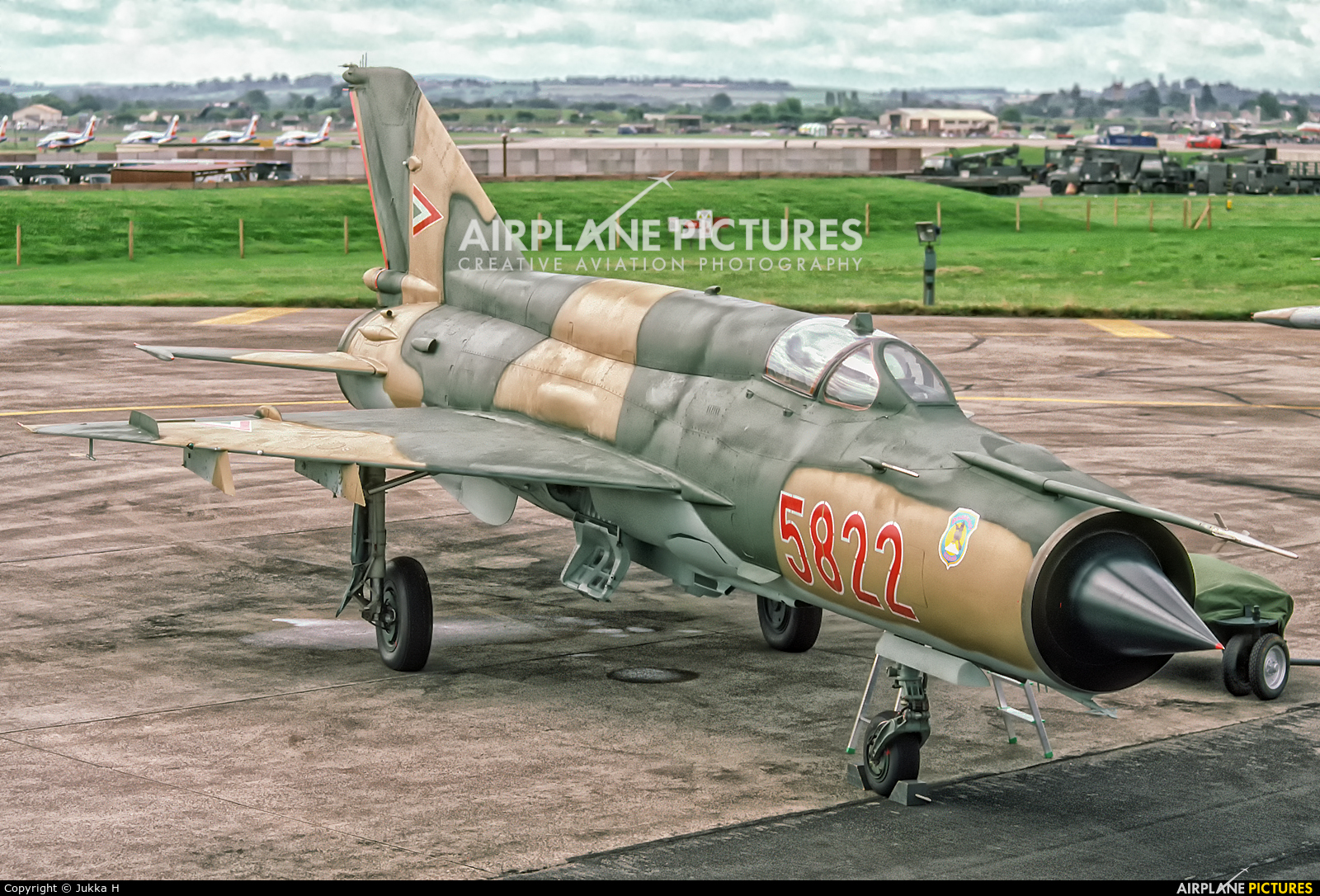 Hungary - Air Force 5822 aircraft at Fairford