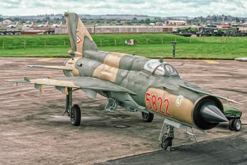 5822 - Hungary - Air Force Mikoyan-Gurevich MiG-21bis