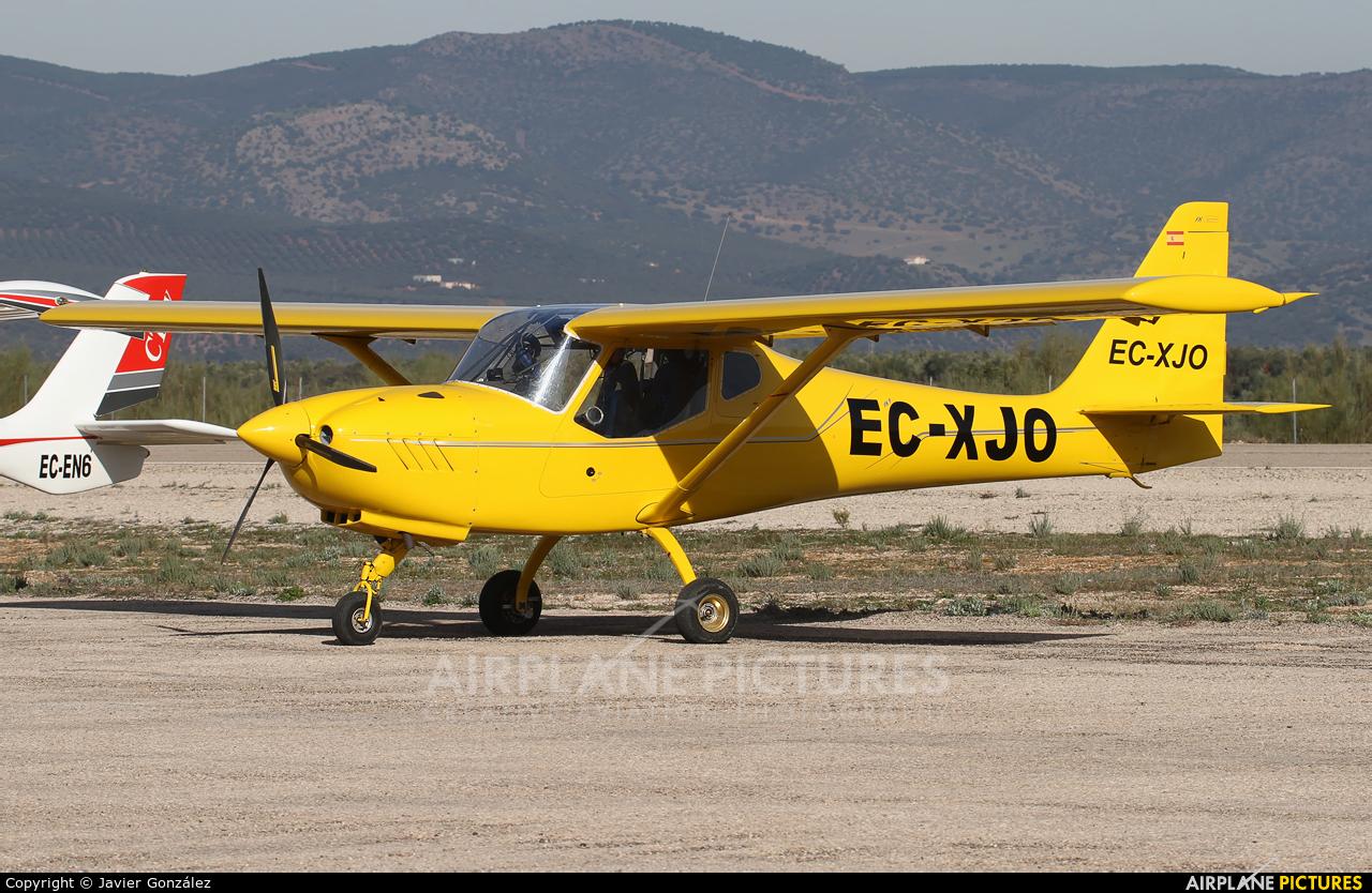 Private EC-XJO aircraft at Aeródromo de Beas de Segura