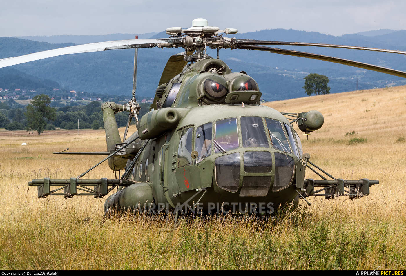 Poland- Air Force: Special Forces 6110 aircraft at Lipowa
