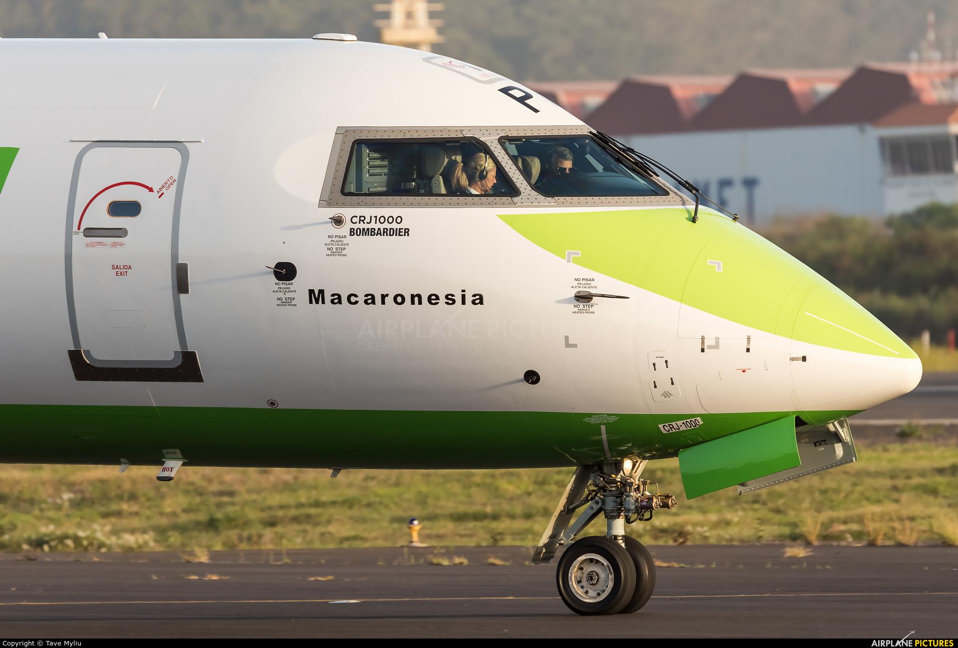 Binter Canarias 9H-MPA aircraft at Tenerife Norte - Los Rodeos
