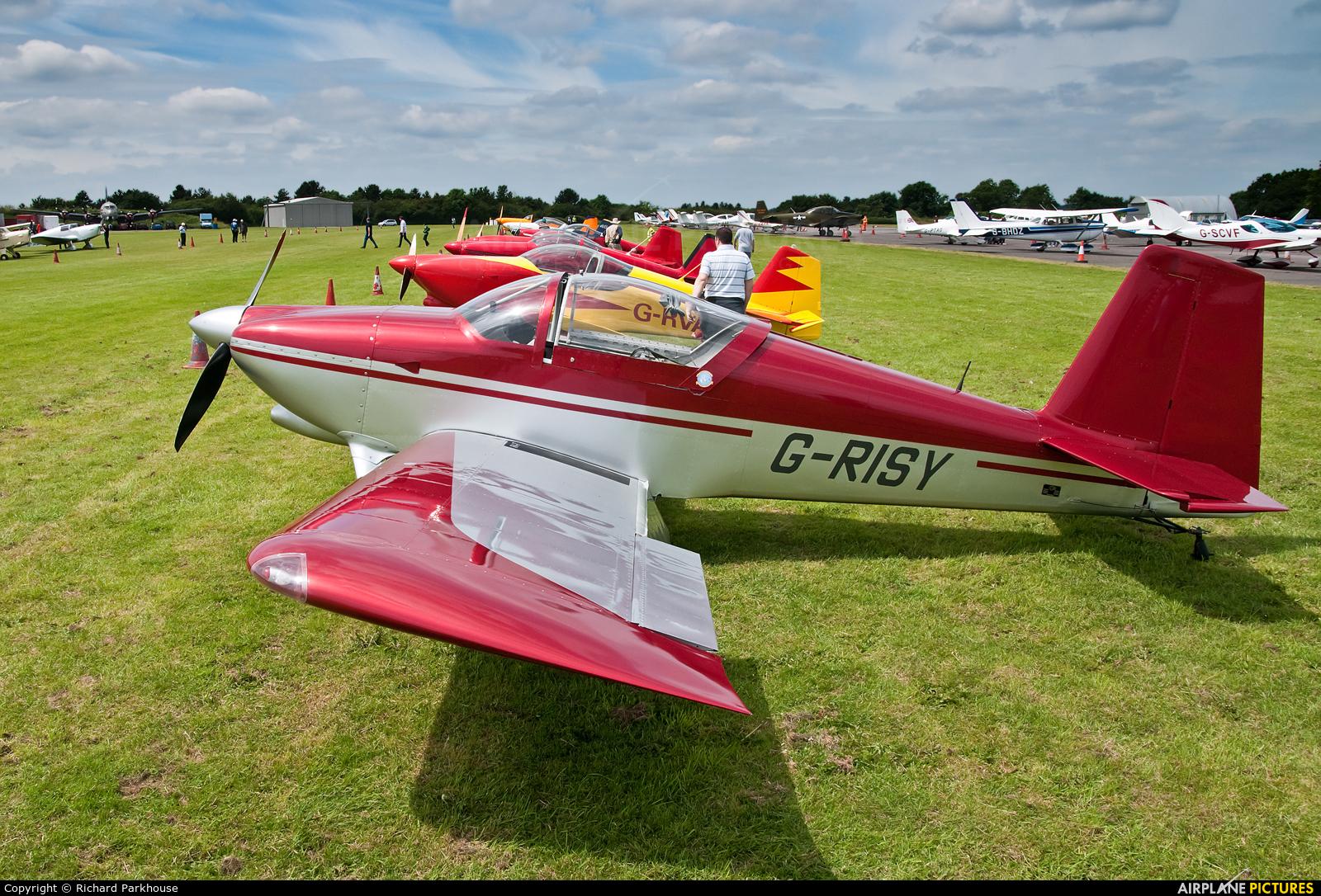 Private G-RISY aircraft at North Weald