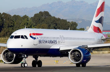 G-TTNG - British Airways Airbus A320 NEO