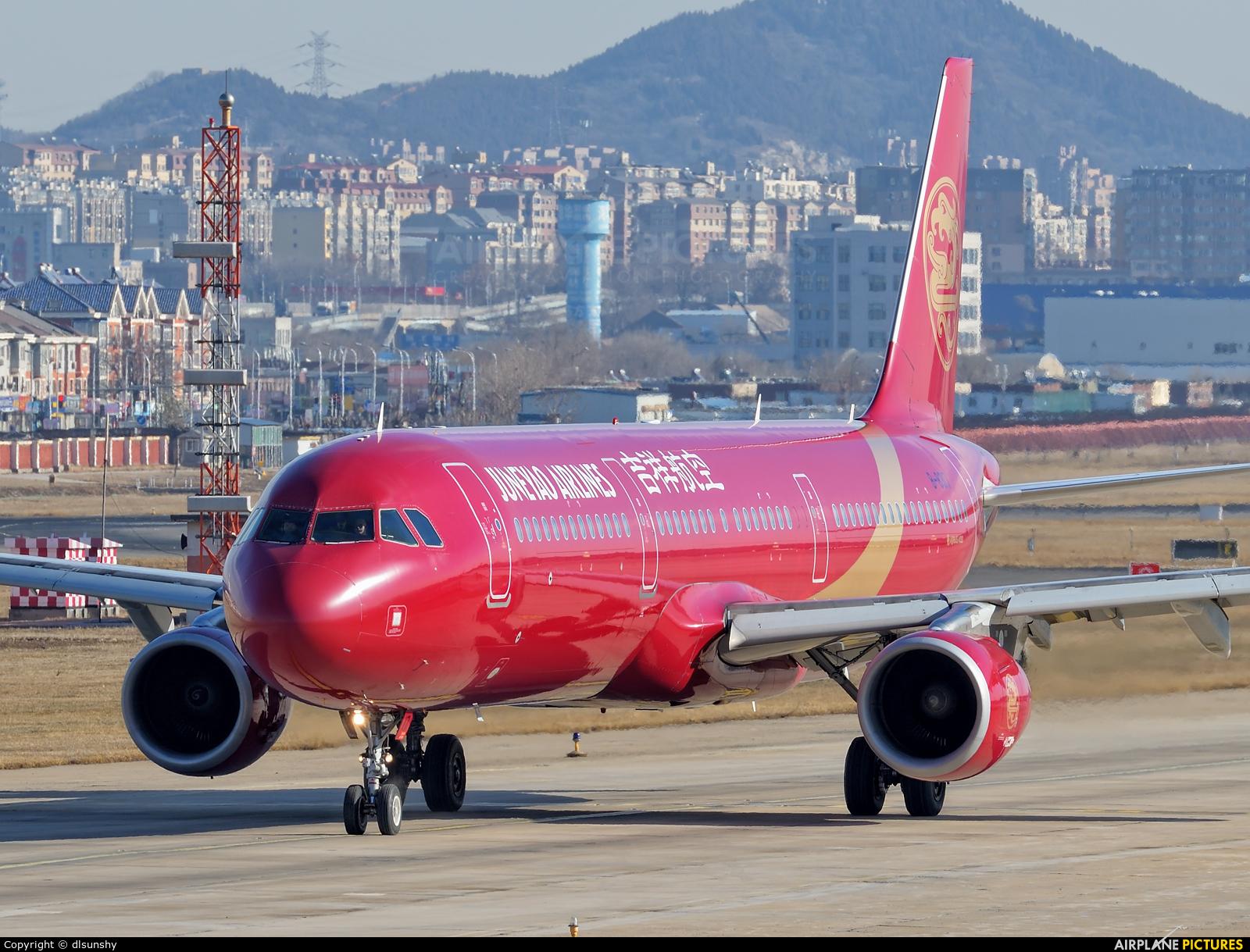 Juneyao Airlines B-8317 aircraft at Dalian Zhoushuizi Int'l
