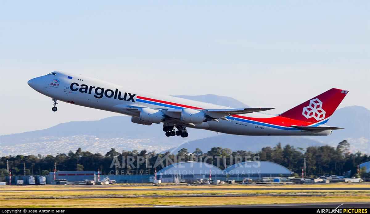 Cargolux LX-VCJ aircraft at Mexico City - Licenciado Benito Juarez Intl