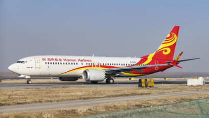 B-1100 - Hainan Airlines Boeing 737-8 MAX