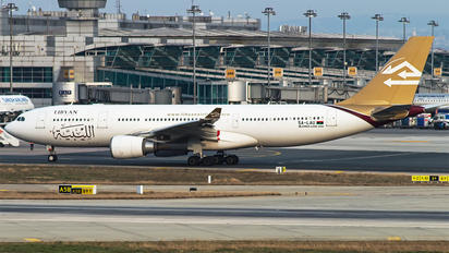 5A-LAU - Libyan Airlines Airbus A330-200