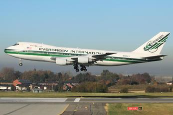 N488EV - Evergreen International Boeing 747-200