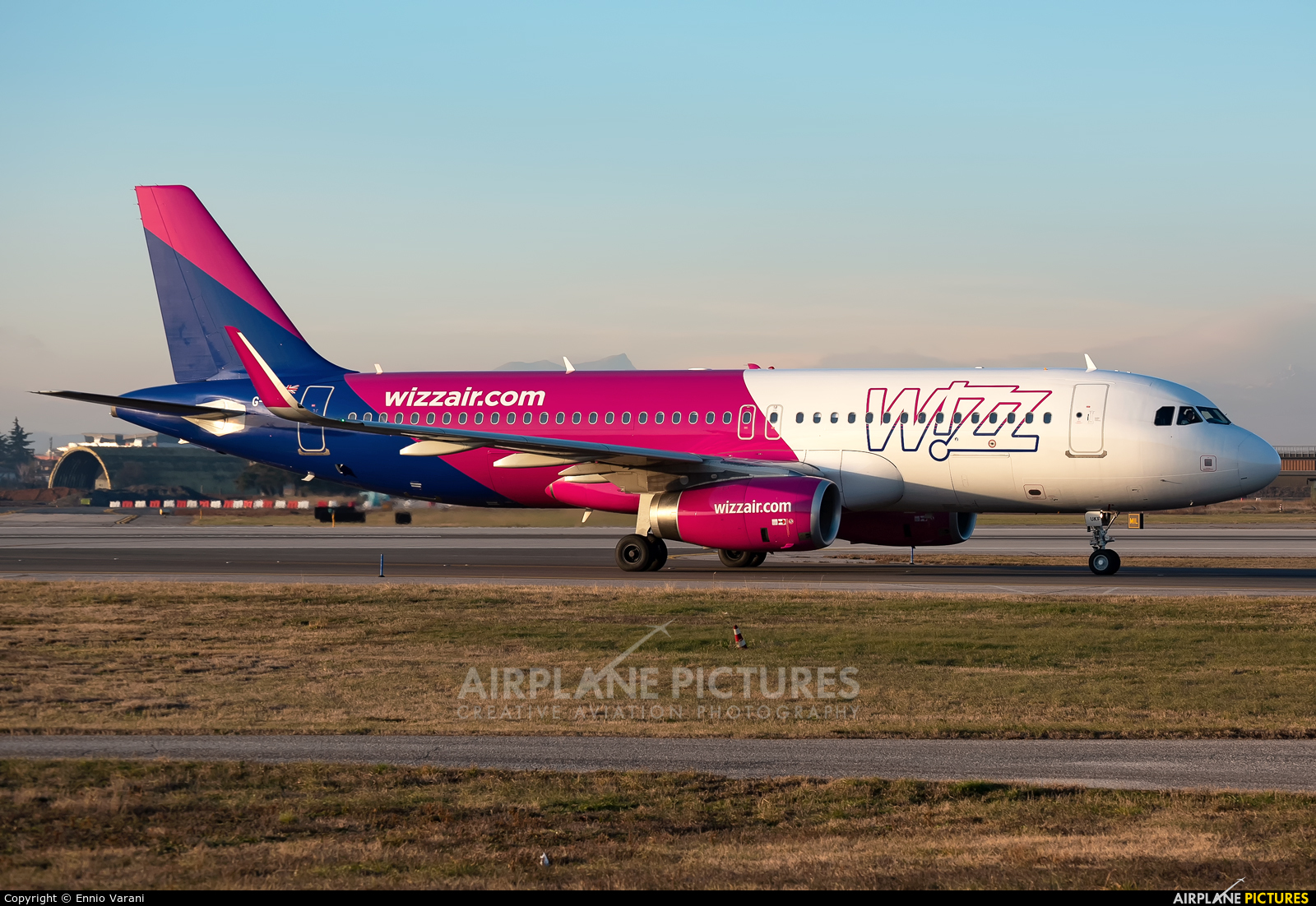Wizz Air UK G-WUKF aircraft at Verona - Villafranca