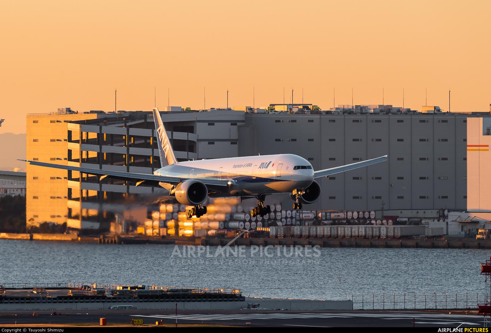 ANA - All Nippon Airways JA790A aircraft at Tokyo - Haneda Intl