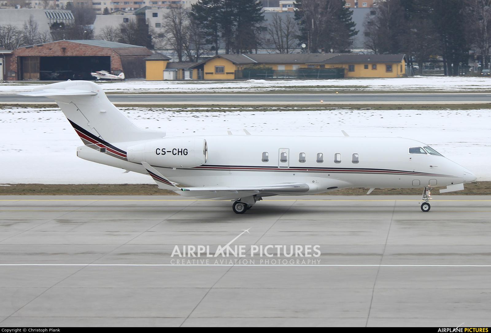 NetJets Europe (Portugal) CS-CHG aircraft at Innsbruck