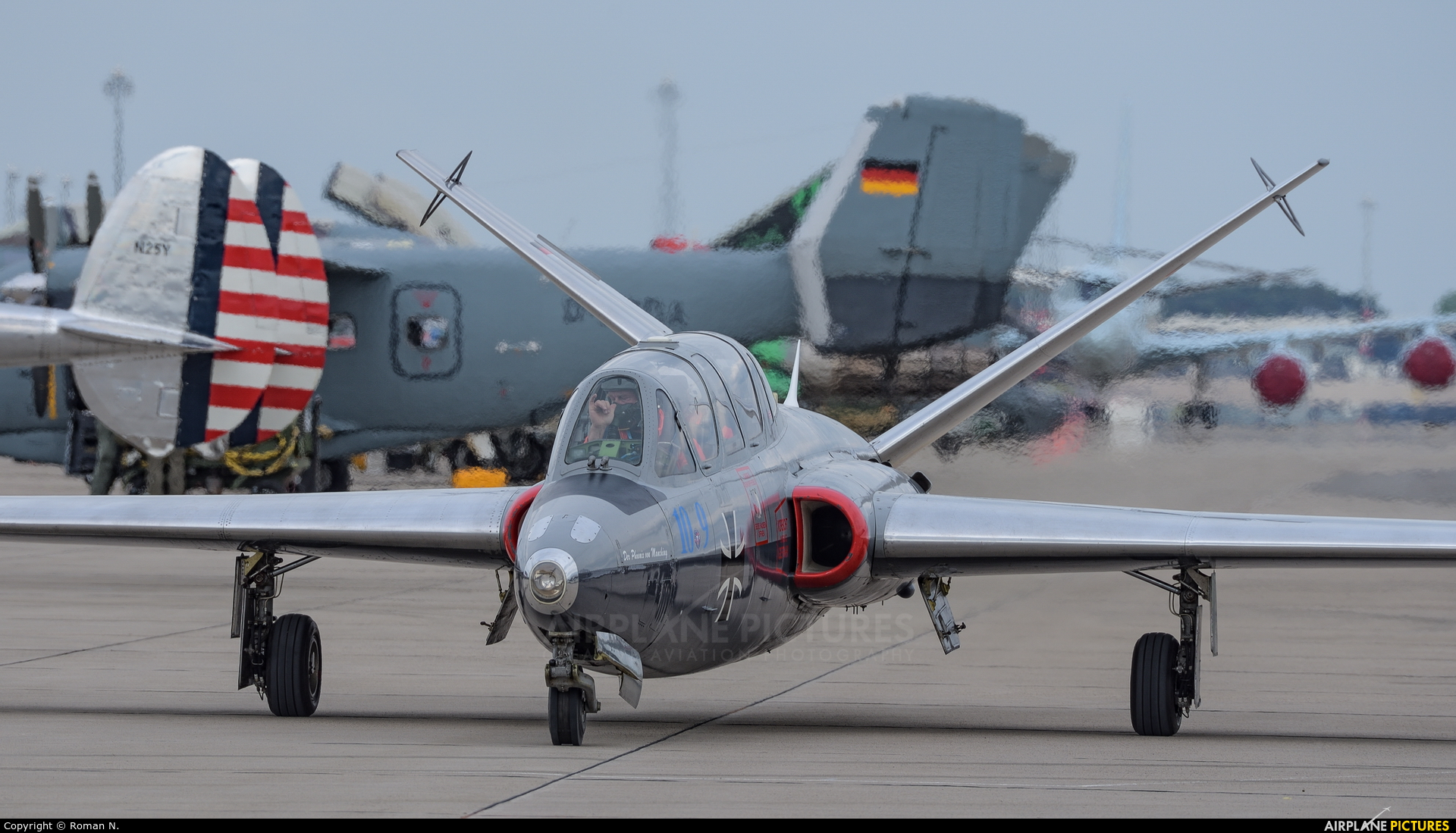 Private D-IFCC aircraft at Berlin - Schönefeld