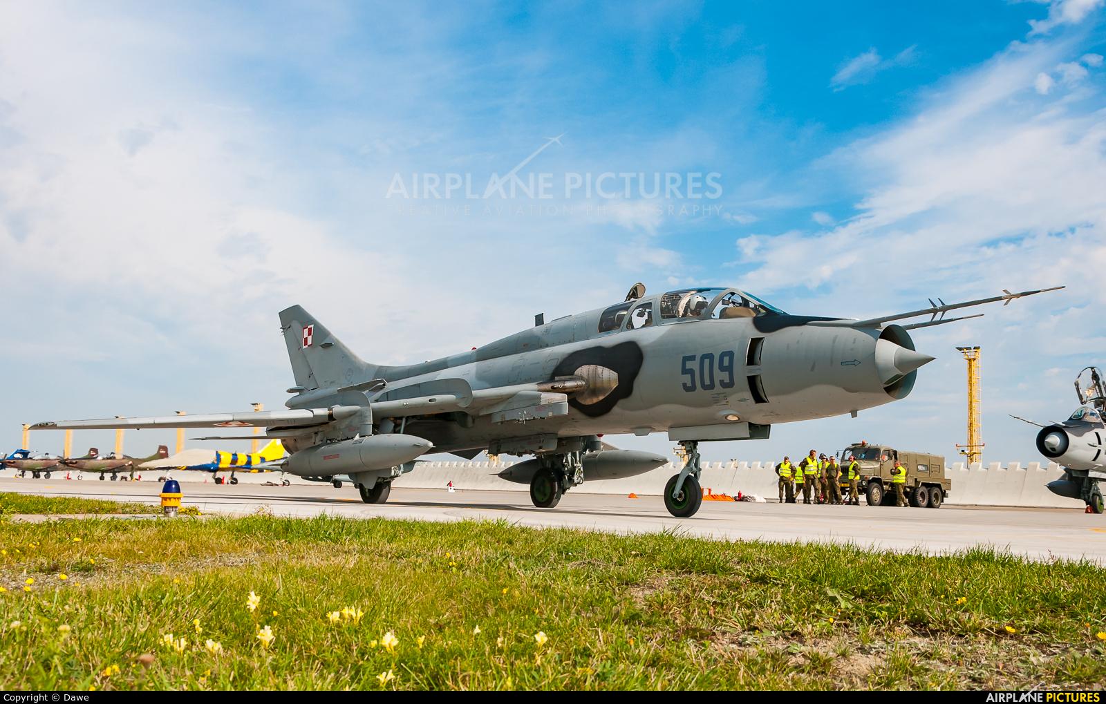 Poland - Air Force 509 aircraft at Náměšť nad Oslavou