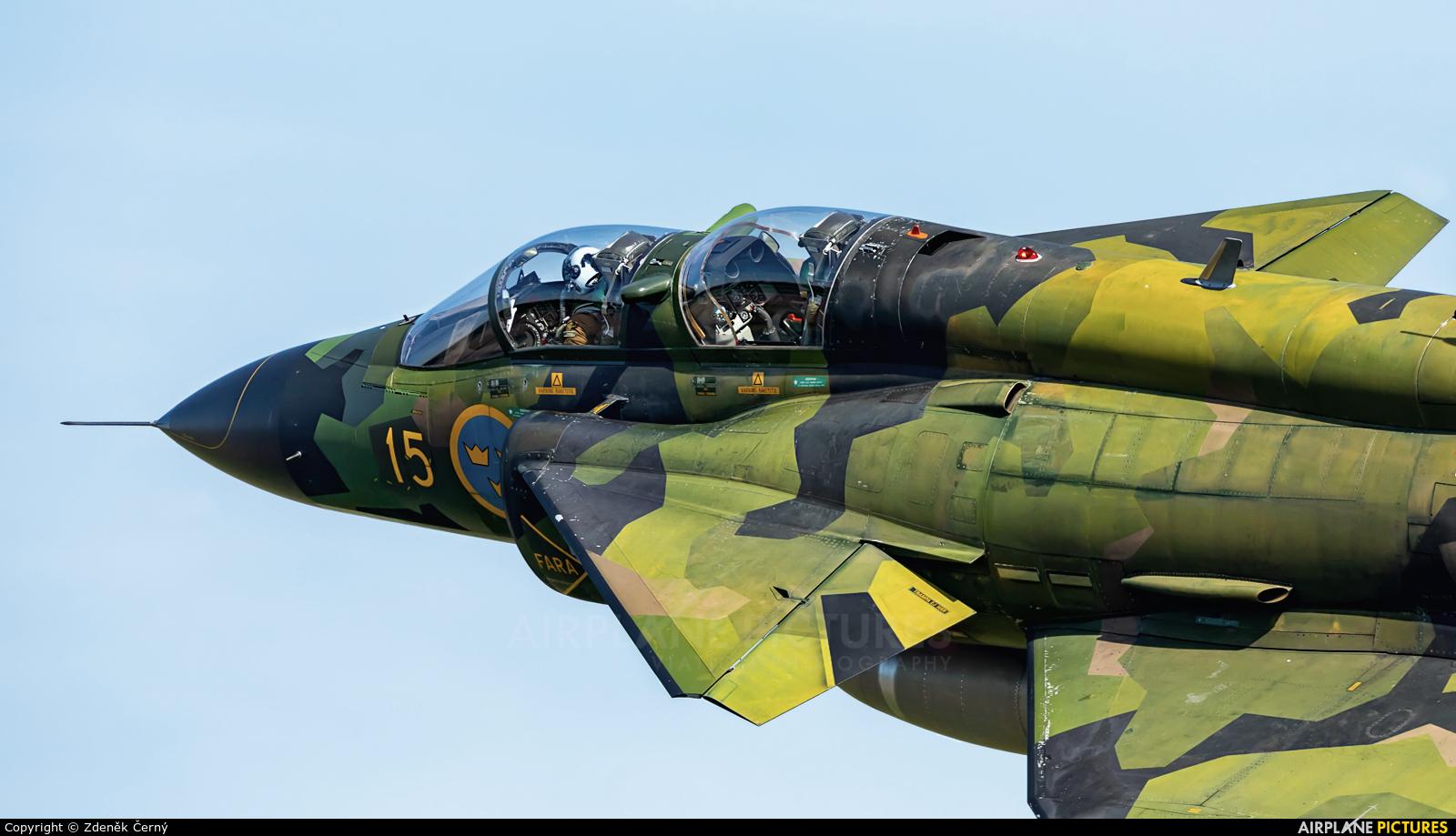 Swedish Air Force Historic Flight SE-DXO aircraft at Ostrava Mošnov