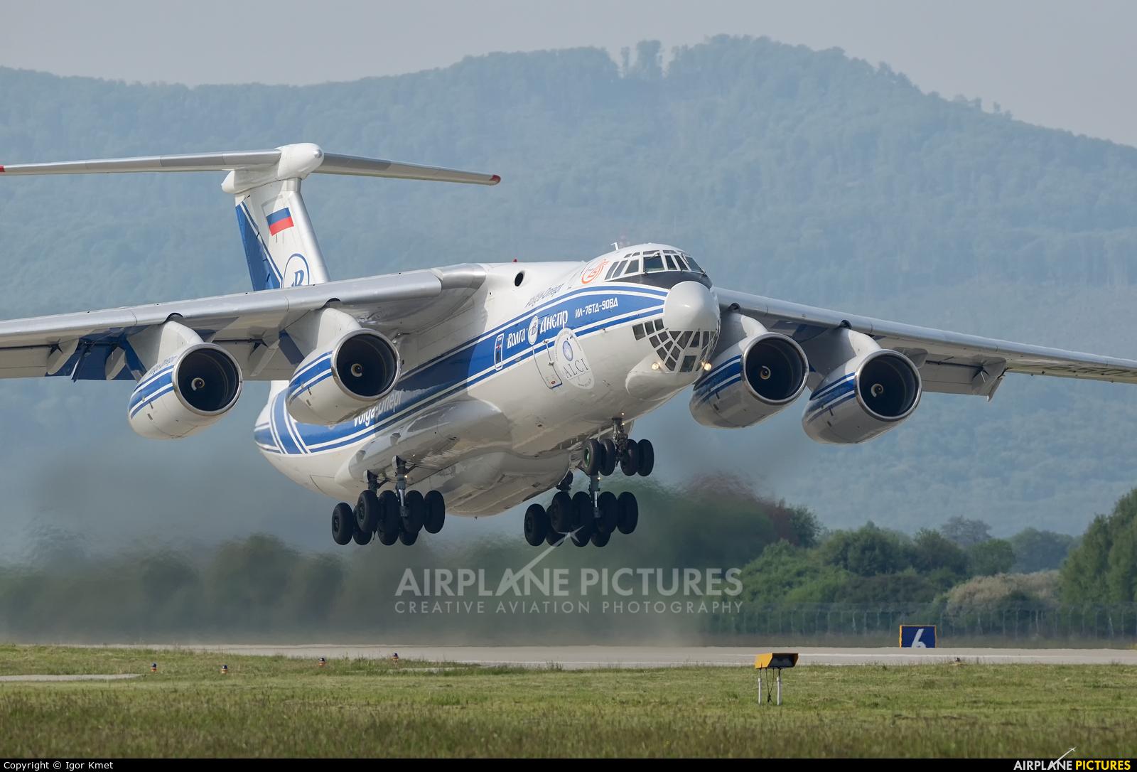 Volga Dnepr Airlines RA-76503 aircraft at Sliač