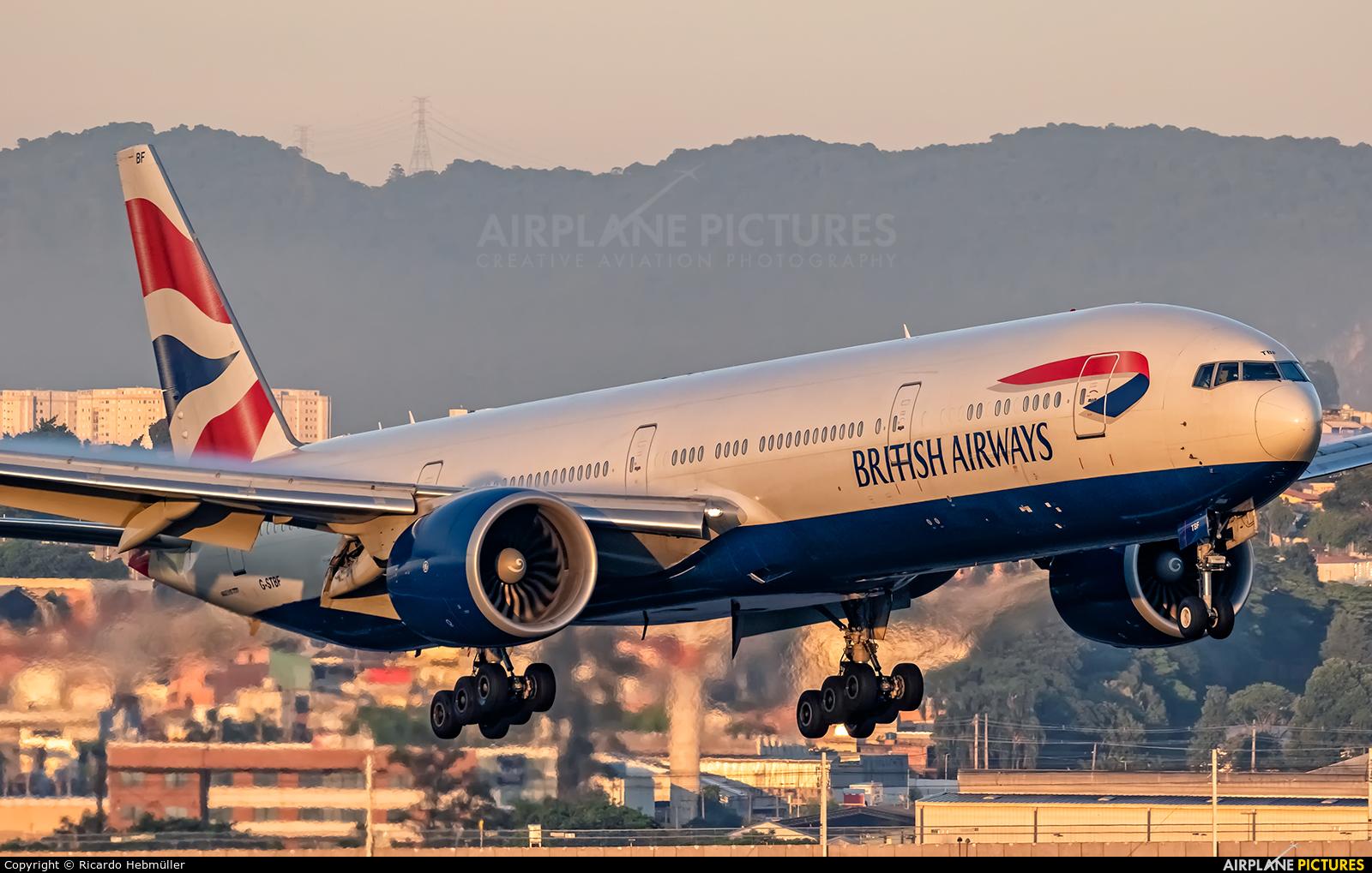 British Airways G-STBF aircraft at São Paulo - Guarulhos