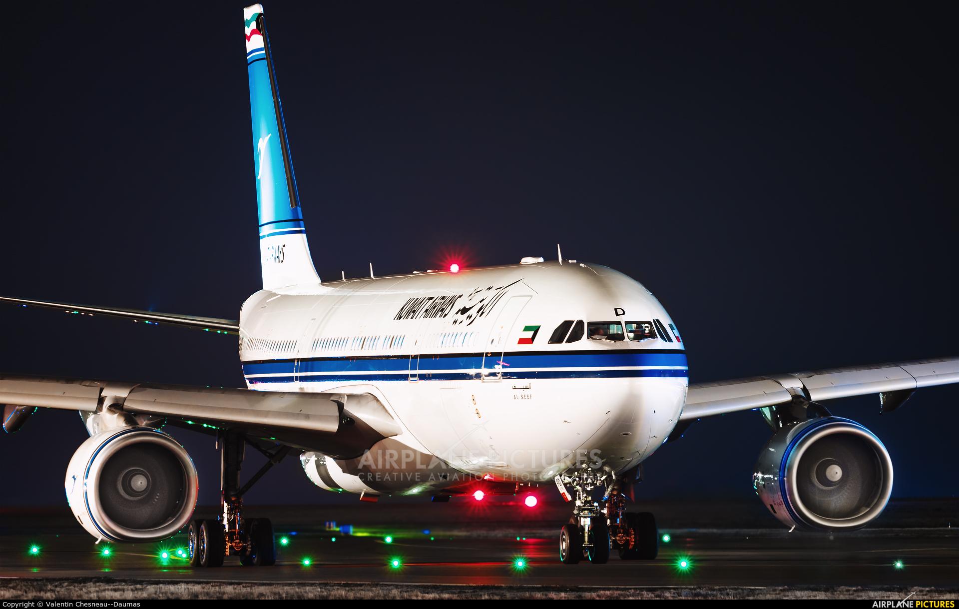 Kuwait Airways 9K-APD aircraft at Paris - Charles de Gaulle