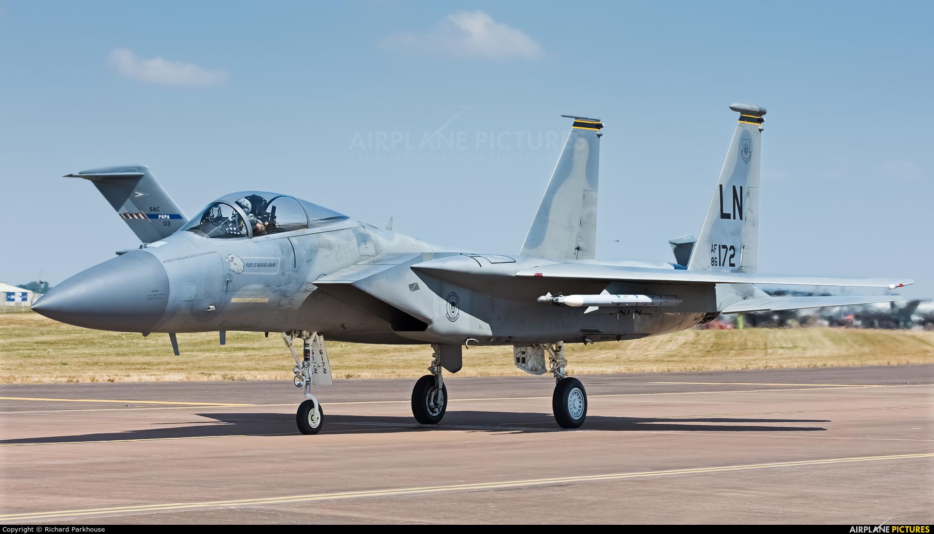 USA - Air Force 86-0172 aircraft at Fairford