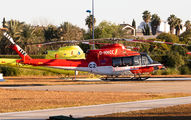 D-HHCC - Babcock Support services Bell 412HP aircraft