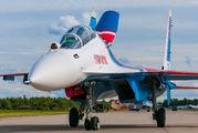 """RF-81704 - Russia - Air Force """"Russian Knights"""" Sukhoi Su-30SM aircraft"""