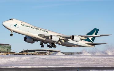 B-LJN - Cathay Pacific Cargo Boeing 747-8F