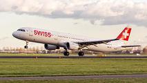 HB-IOC - Swiss Airbus A321 aircraft