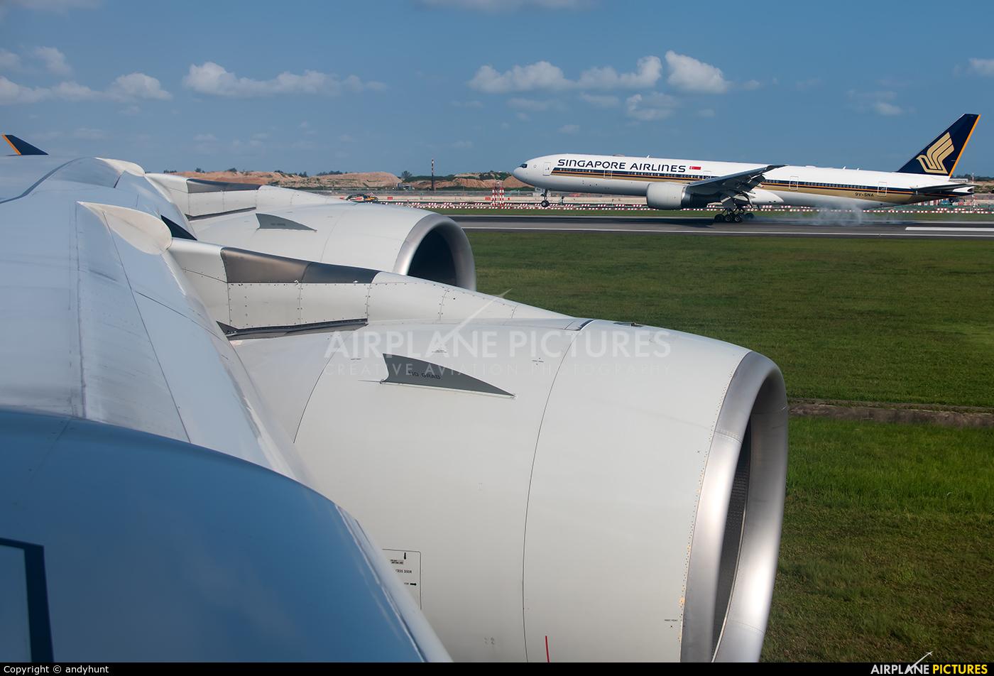 Singapore Airlines 9V-SKJ aircraft at Singapore - Changi