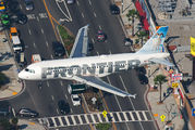 N925FR - Frontier Airlines Airbus A319 aircraft