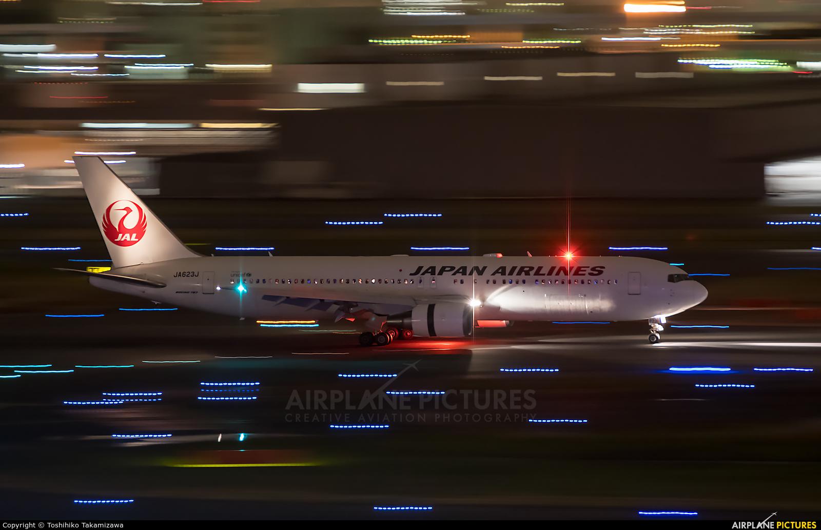 JAL - Japan Airlines JA623J aircraft at Tokyo - Haneda Intl