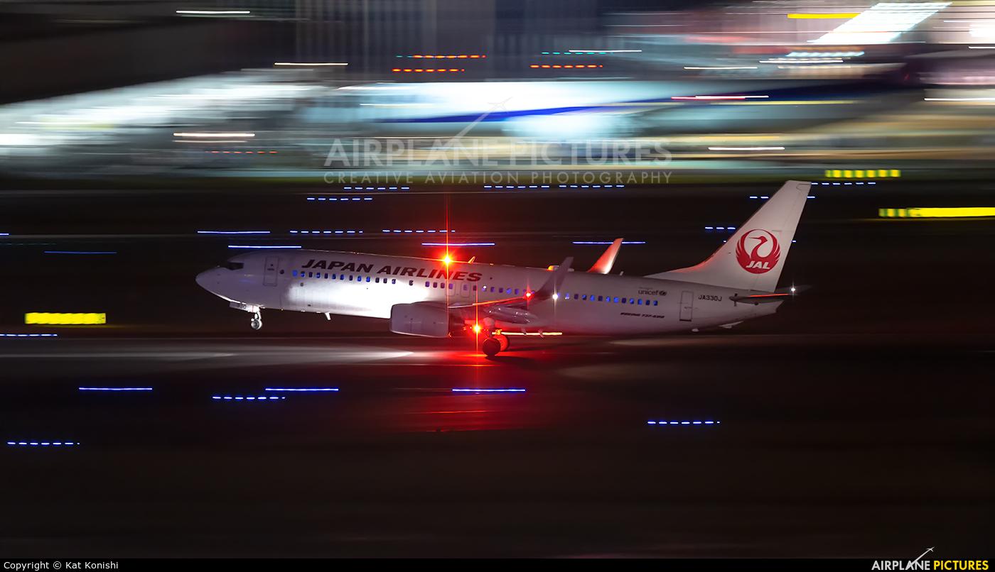 JAL - Japan Airlines JA330J aircraft at Tokyo - Haneda Intl
