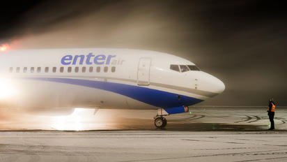SP-ENW - Enter Air Boeing 737-800