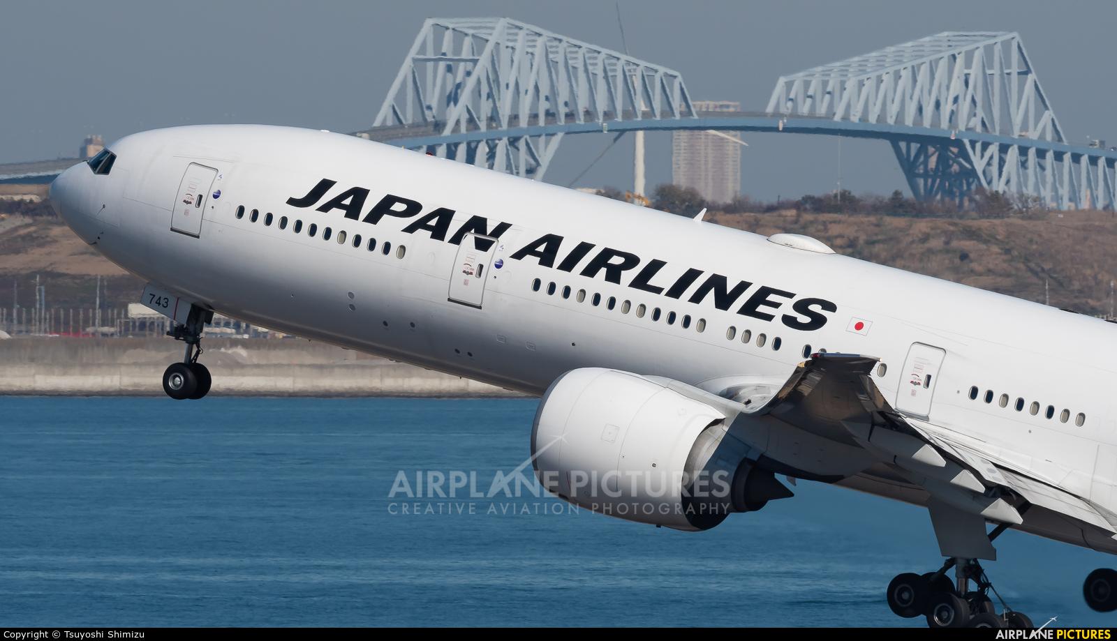 JAL - Japan Airlines JA743J aircraft at Tokyo - Haneda Intl