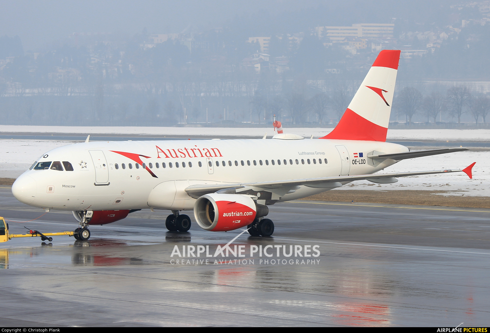 Austrian Airlines/Arrows/Tyrolean OE-LDD aircraft at Innsbruck