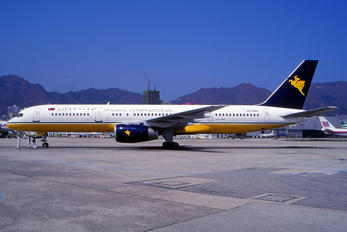 V8-RBA - Myanmar Airways International Boeing 757-200