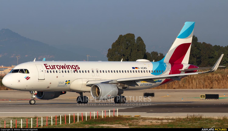 Eurowings D-AEWG aircraft at Barcelona - El Prat