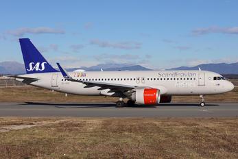 SE-ROC - SAS - Scandinavian Airlines Airbus A320 NEO
