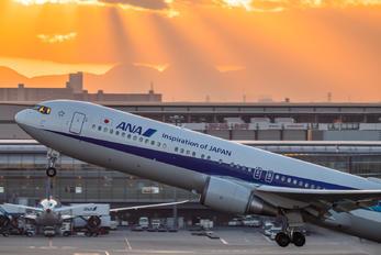 JA611A - ANA - All Nippon Airways Boeing 767-300ER