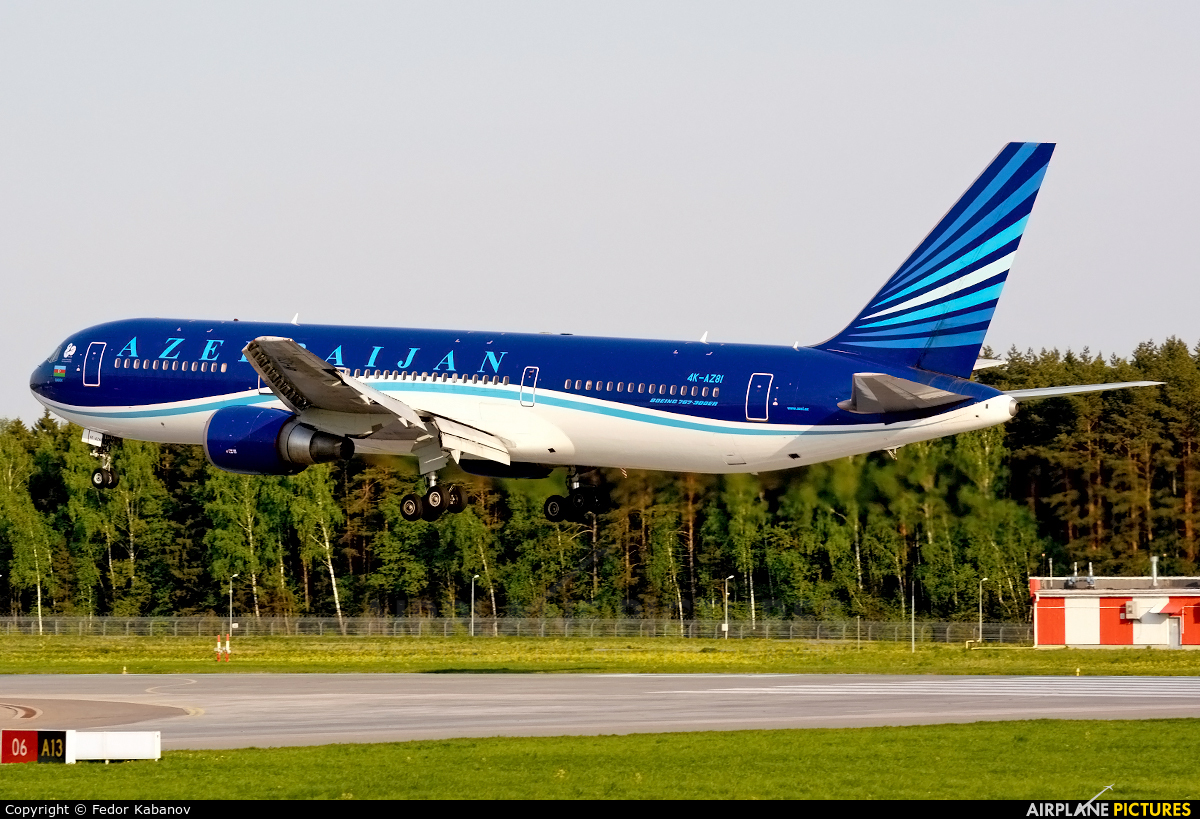 Azerbaijan Airlines 4K-AZ81 aircraft at Moscow - Vnukovo