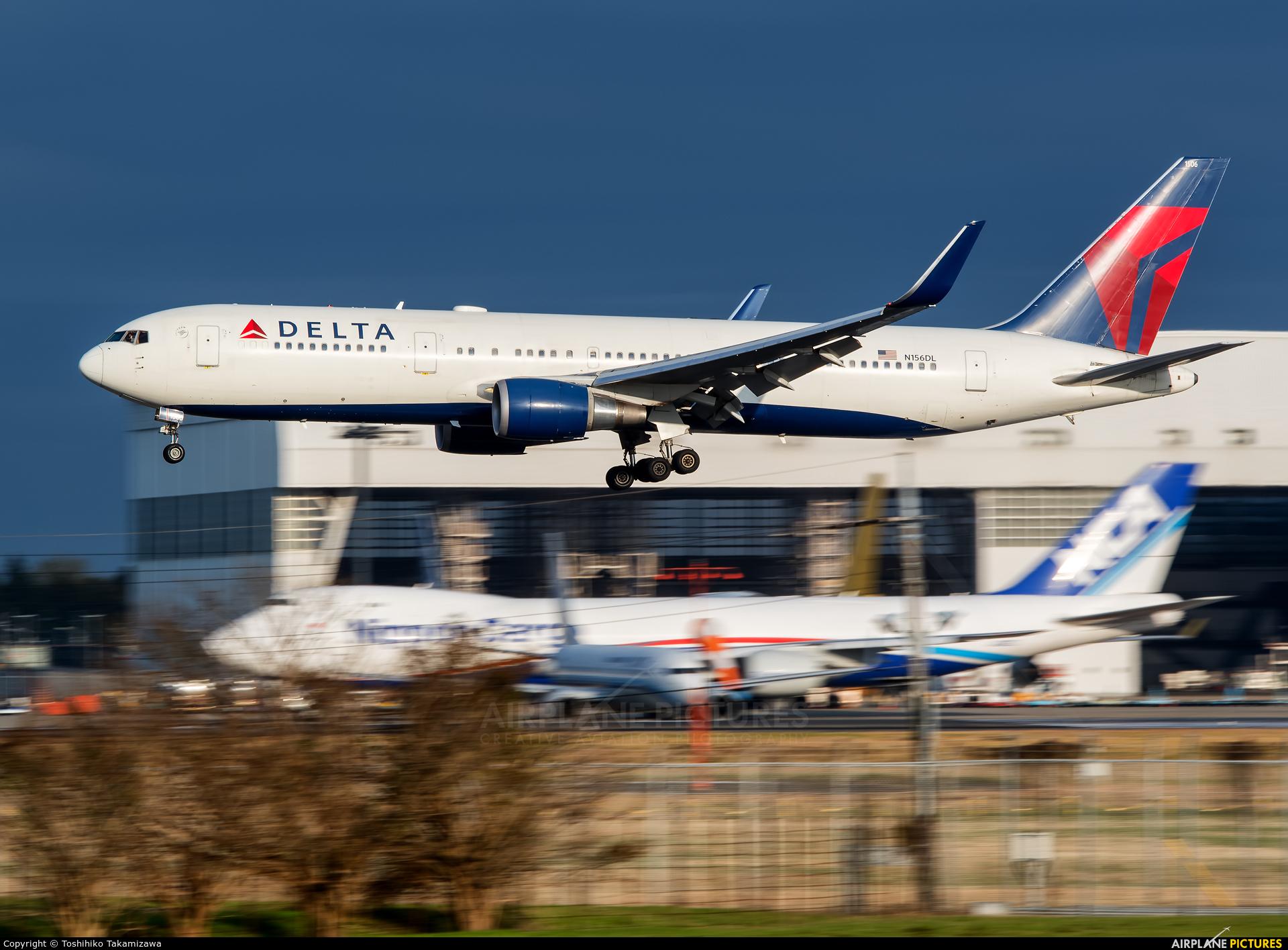 Delta Air Lines N156DL aircraft at Tokyo - Narita Intl