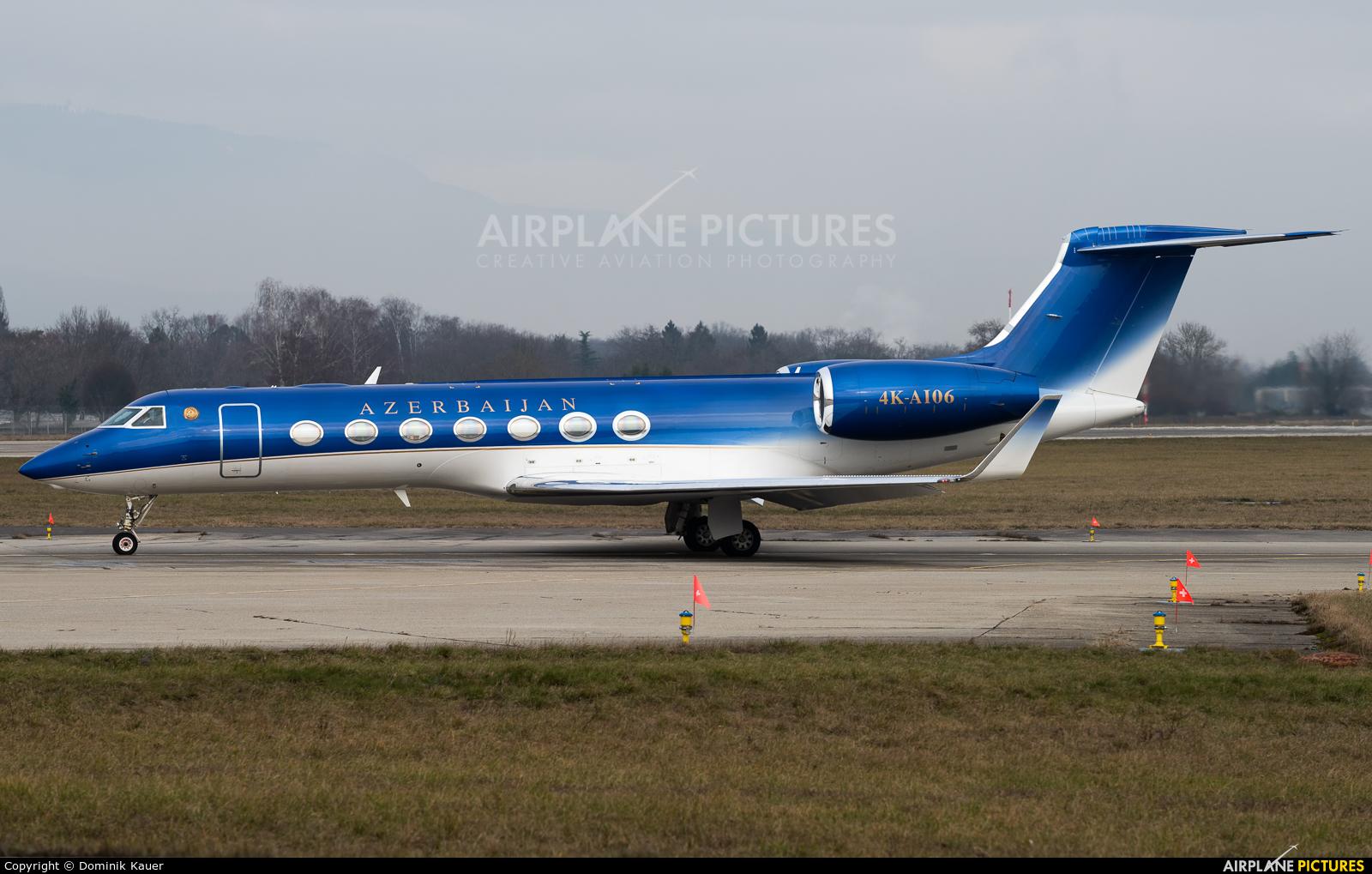 Azerbaijan - Government 4K-AI06 aircraft at Geneva Intl