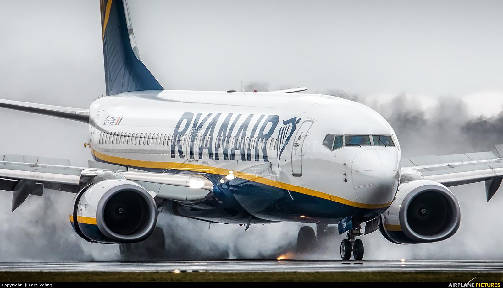 Ryanair EI-FOW aircraft at Amsterdam - Schiphol