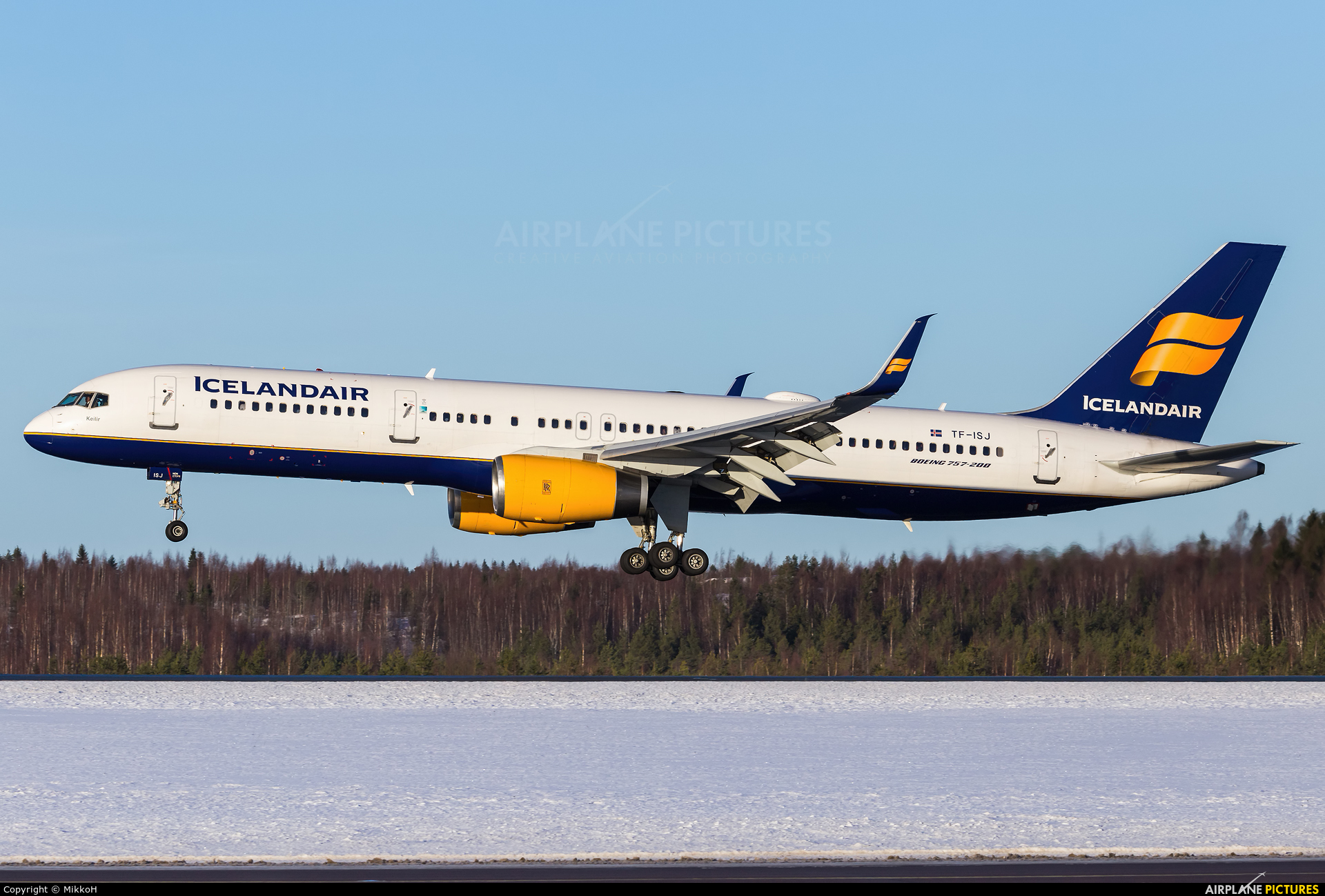 Icelandair TF-ISJ aircraft at Helsinki - Vantaa