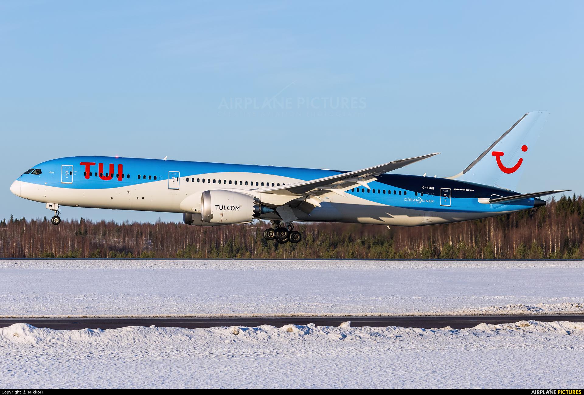 TUI Airways G-TUIM aircraft at Helsinki - Vantaa