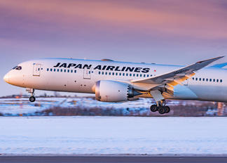 JA843J - JAL - Japan Airlines Boeing 787-8 Dreamliner