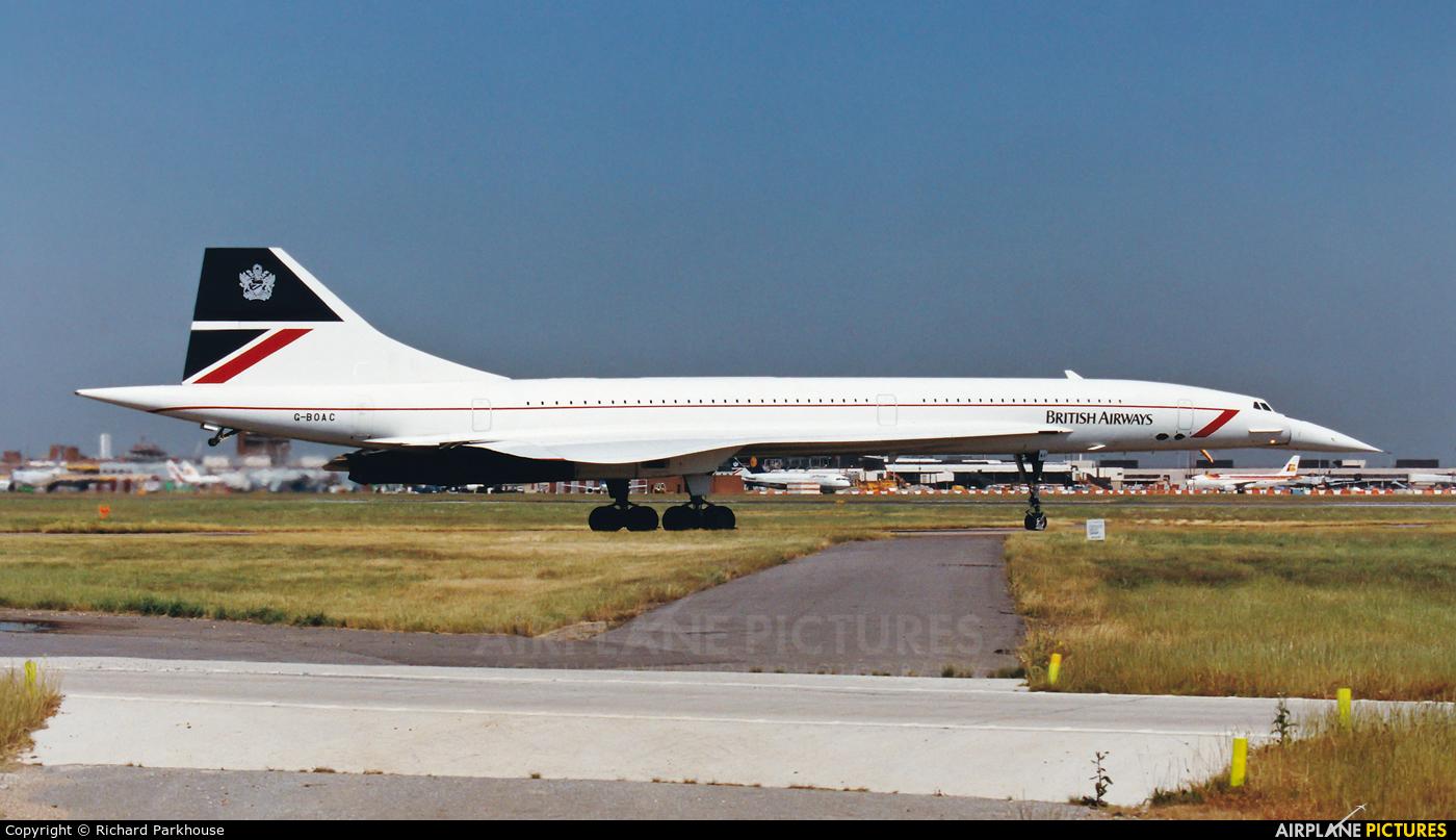 British Airways G-BOAC aircraft at London - Heathrow