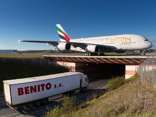 F-WWSK - Emirates Airlines Airbus A380