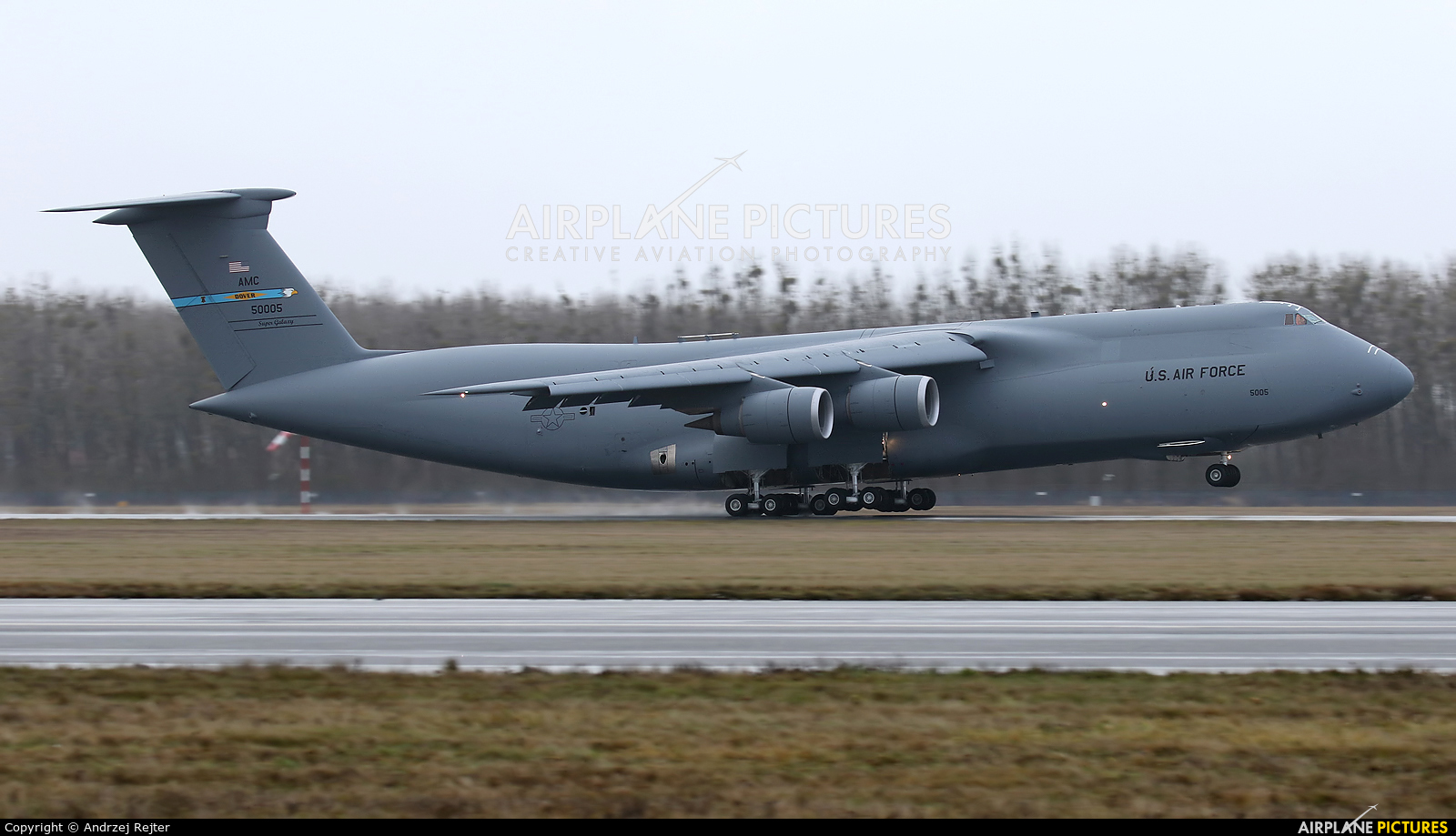 USA - Air Force 85-0005 aircraft at Wrocław - Copernicus