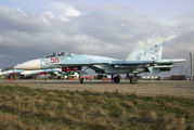 58 - Russia - Air Force Sukhoi Su-27SM aircraft
