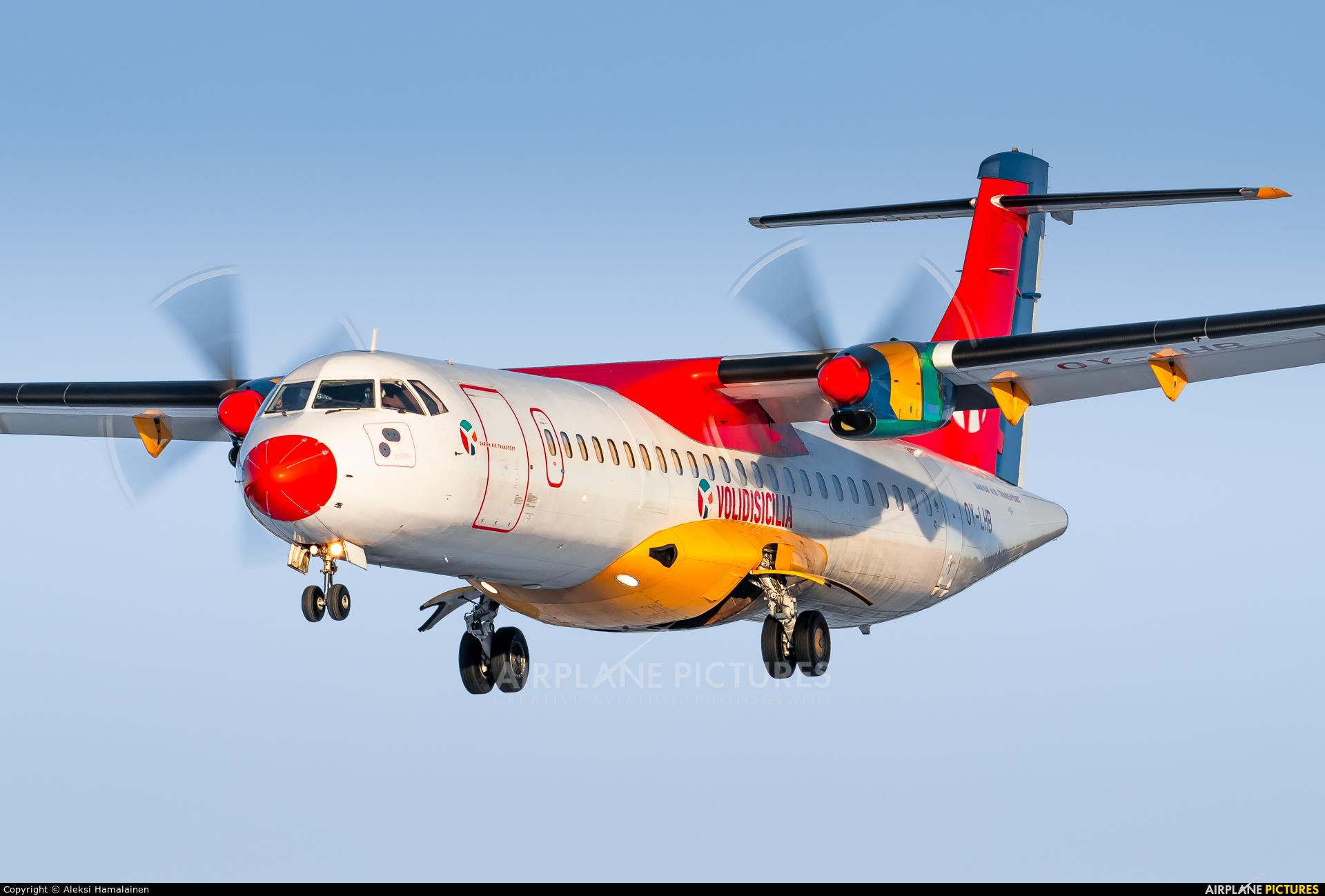 Danish Air Transport OY-LHB aircraft at Helsinki - Vantaa